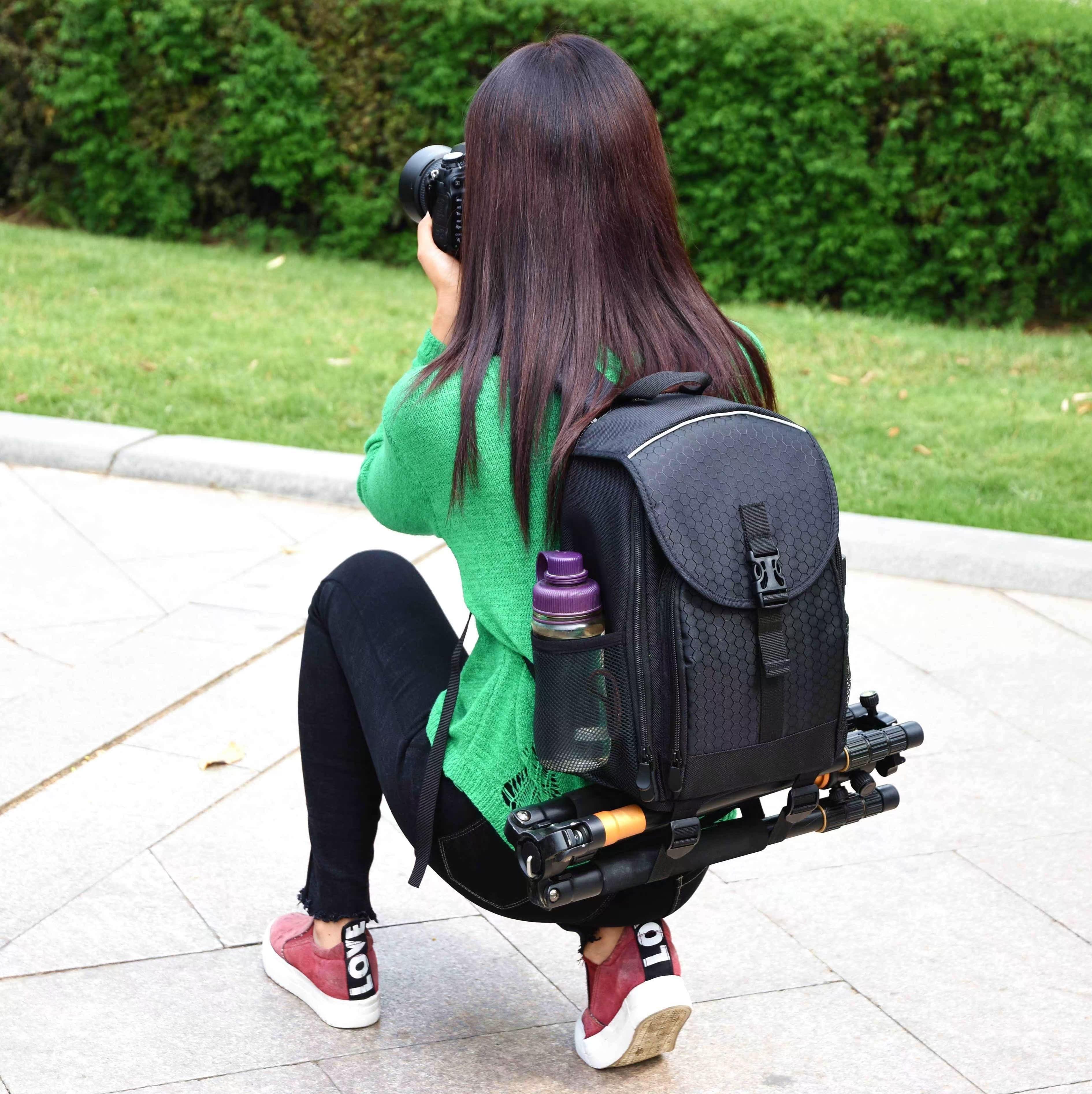 致泰相机包单反摄影包双肩背包大容量数码专业防水防盗户外男女
