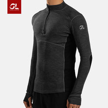 Running T Gear Lab Love Burning Merino Wool Close Layer Cross Country Running Mountain Sweat Exercise Long Sleeve T-shirt