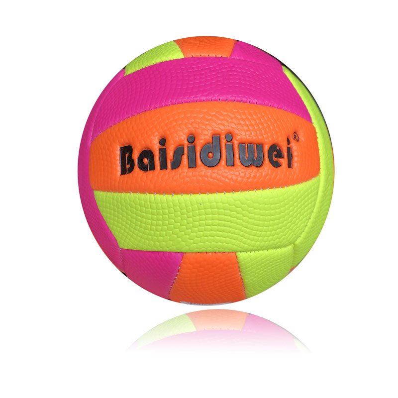 No. 2 childrens volleyball multicolor Pu racket exercise small football Mini Digital mother