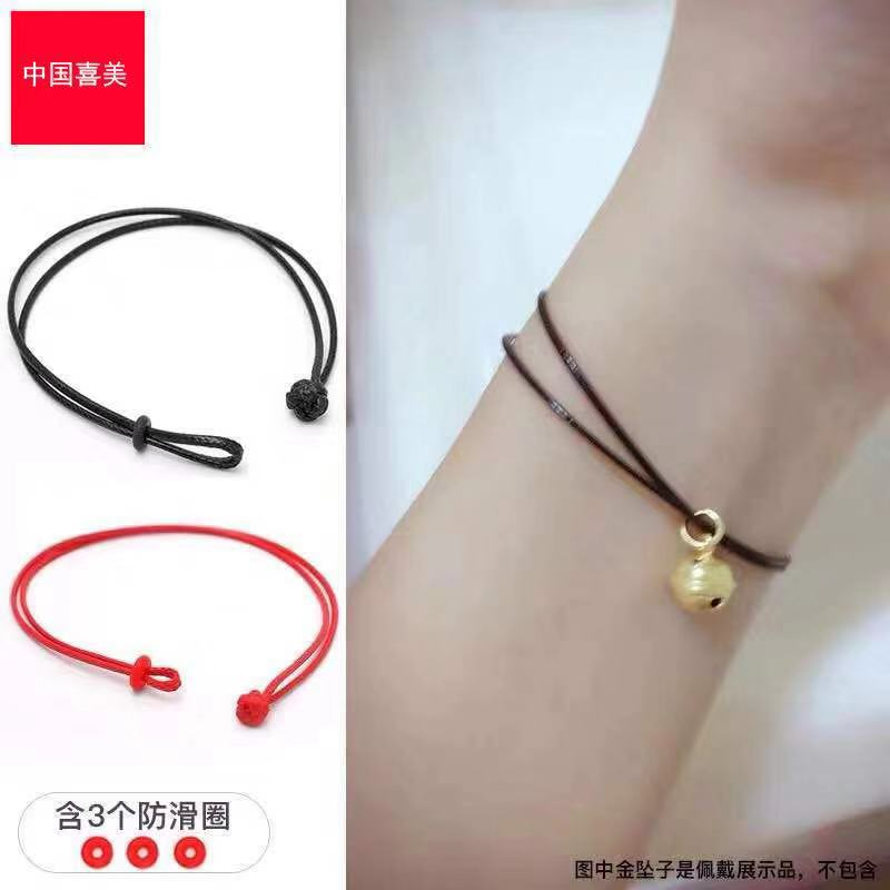 Hand made bracelet, special DIY perforation for gold shop, with transfer pearl Buddha series mens and womens lifeline string