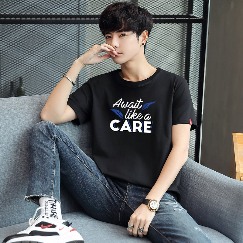 2020 new short sleeve T-shirt Summer Cotton Top Mens t-shirt t-shirt