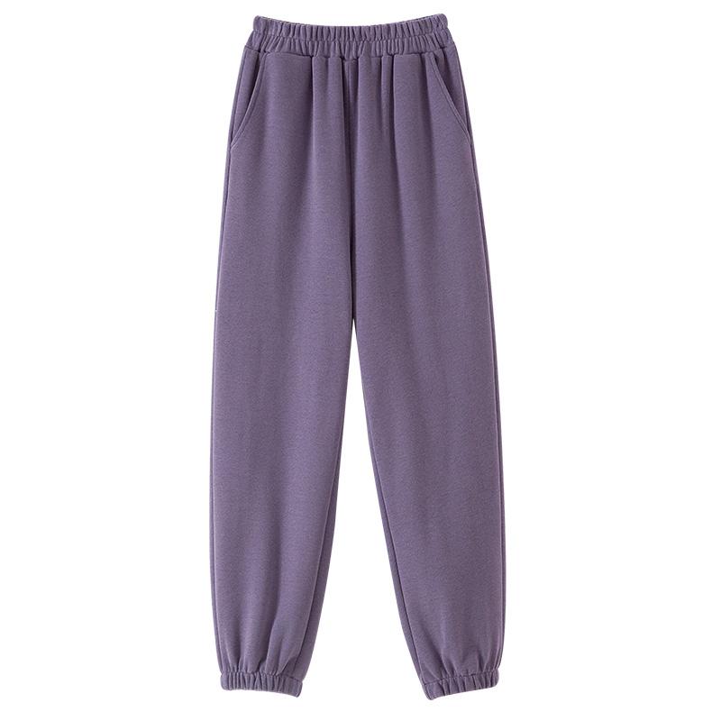 灰色子女春秋2021新款女装宽松卫裤怎么样