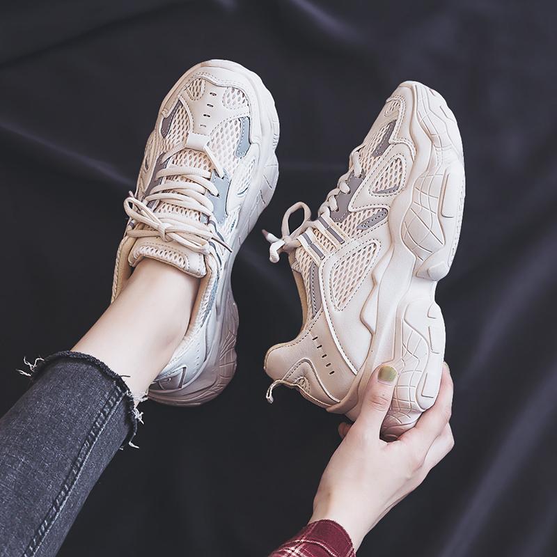 10月16日最新优惠老爹2019秋季新款韩版透气夏运动鞋