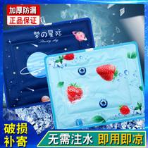 夏季透气冰垫坐垫汽车冰凉垫水垫免注水学生夏天降温神器水袋椅垫