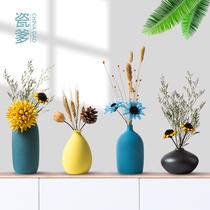 家里摆件卧室屋内房间装饰品可爱小和尚花瓶小饰品客厅创意