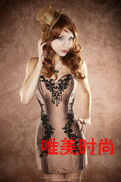 Sexy Gothic corset corset court corset