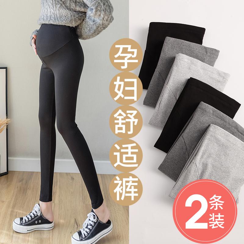孕妇打底裤夏季外穿加绒孕妇裤子