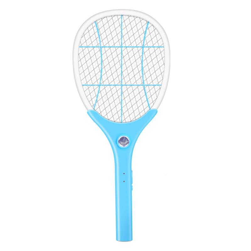 电蚊拍家用充电式强力电蚊子拍电苍蝇拍大号LED灯灭蚊拍灭苍蝇拍