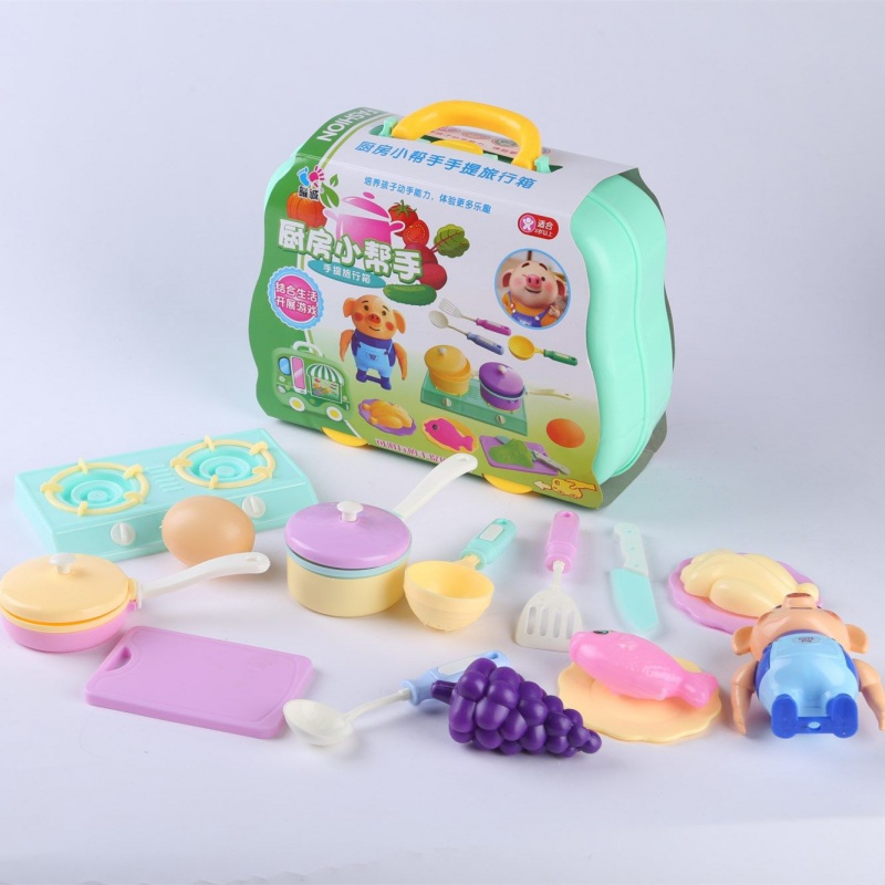 New childrens family toy set doctor jewelry repair role play puzzle toy box