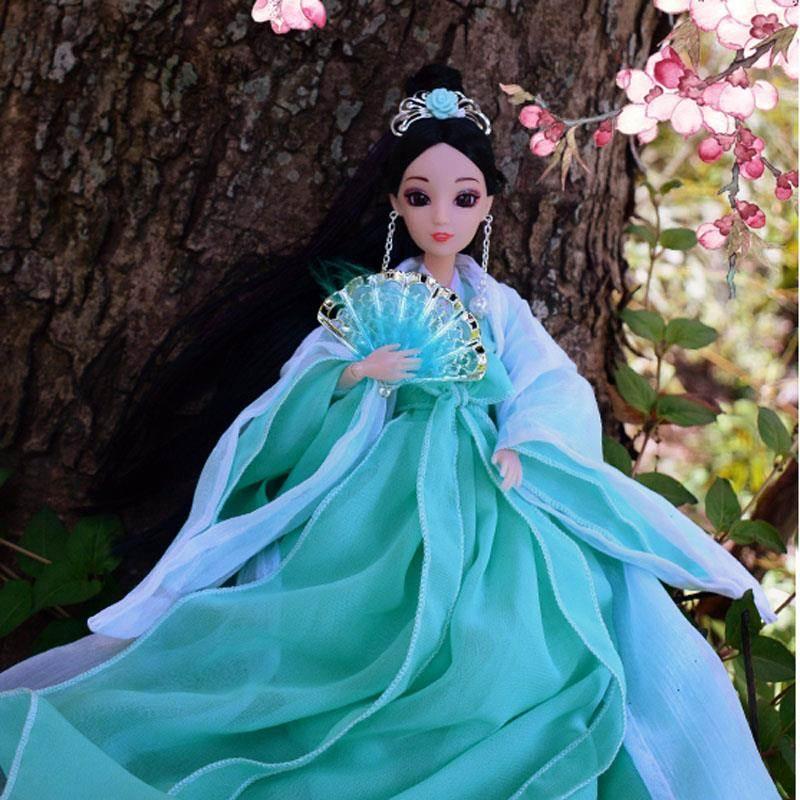 古装娃娃锦觅古风贵妃仙女扶摇皇后宫廷公主叶罗丽娃娃白光莹素白