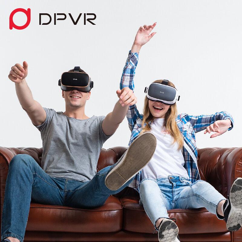 大朋VR P1 VR一体机4K高清vr电影AI天猫精灵语音控制3D眼镜虚拟现实全景视频 vr体感游戏VR眼镜