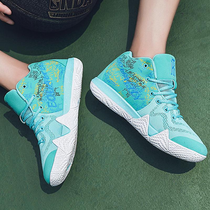 戚少2代篮球鞋欧文5青少年中学生男鞋子防滑透气运动跑步鞋女J361(用3元券)