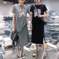 清仓大处理连衣裙t夏季短袖批發女装便宜特价处理夜市地摊货源