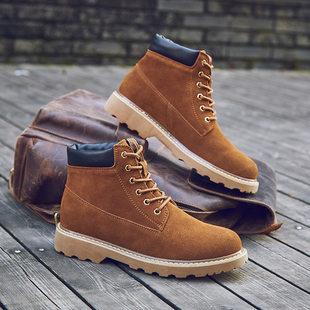 独特马丁靴工装靴军靴男版短靴休闲酷男靴高帮运动鞋男鞋市场