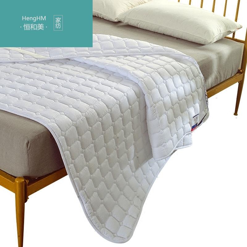 恒和美床褥子单双人床垫保护垫薄1.8m床防滑床护垫子1.5床榻榻米,可领取100元天猫优惠券