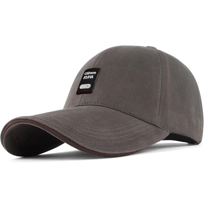 帽子男士春秋棒球帽休闲百搭太阳帽户外防晒遮阳帽高尔夫帽鸭舌帽