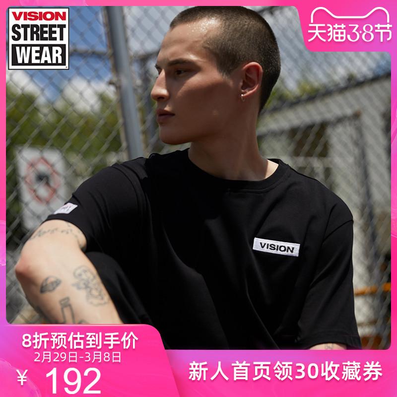 VISION STREET WEAR新款男女同款短袖T恤V193NC1005