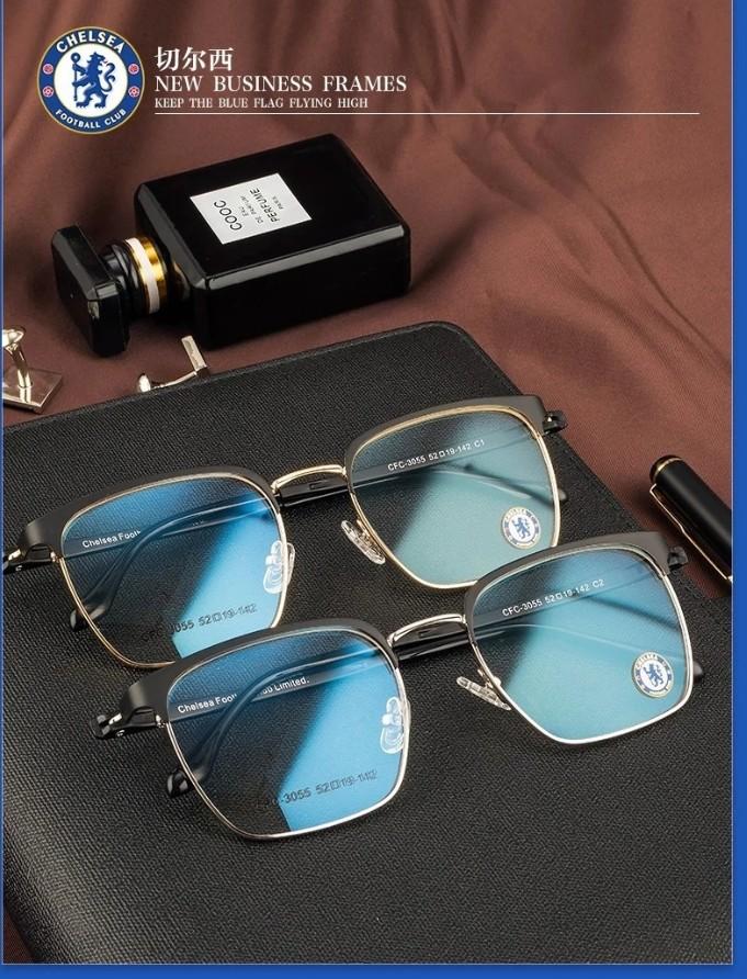 切尔西3055超轻全框商务休闲眼镜框男方形框个性近视眼镜架