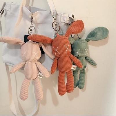 挎包配件玩偶斜挎包背包挂饰公仔可爱娃娃包包挂件女包挂链