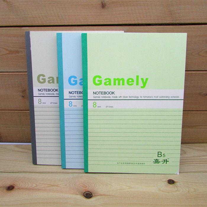 A4/A5/A6B5 30/40/60/80页软抄笔记本单行日记记事作业练习记账本