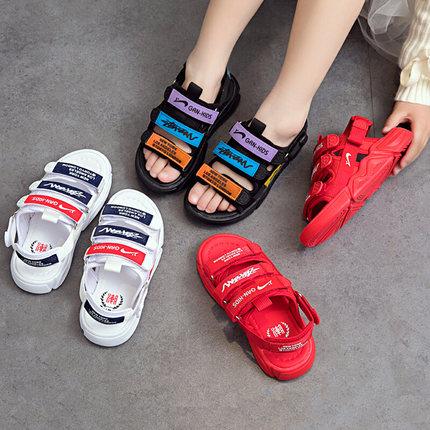 男童凉鞋2019新款夏季韩版中大童小童男孩沙滩鞋软底儿童宝宝鞋子