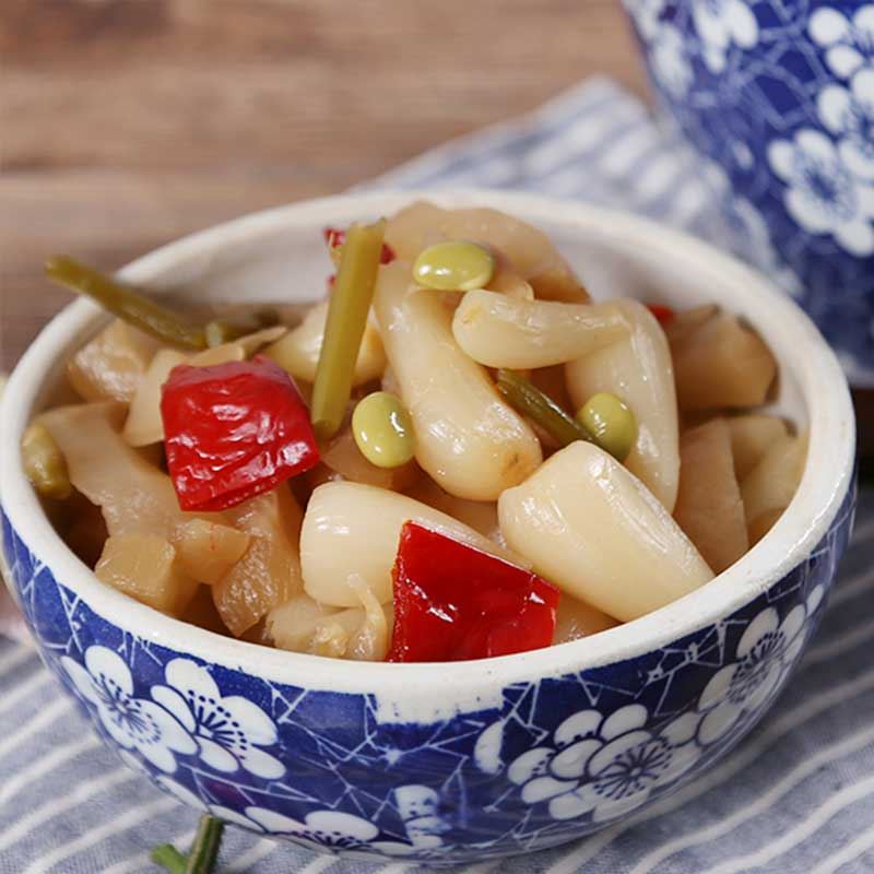 Sichuan Xinfan pickle sweet and sour pickle 150g bag special product Xinfan pickle pickle