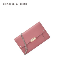 CHARLES & KEITH Wallet CK6-10840159 Metal Chain Bag Lady's Single Shoulder Bag