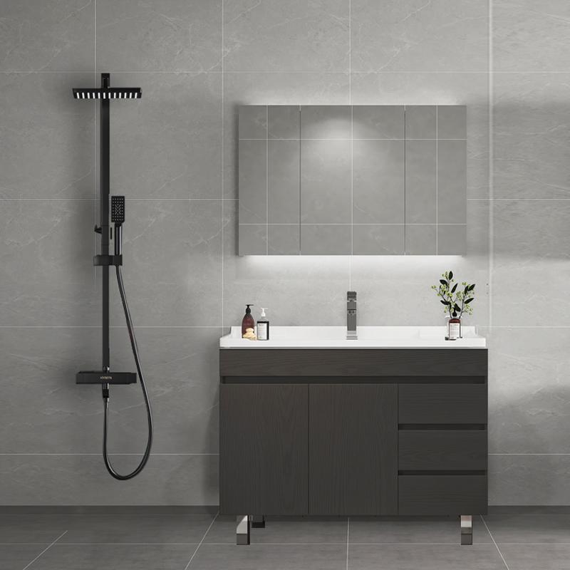 欧罗芬套装组合现代简约花洒浴室柜10月18日最新优惠