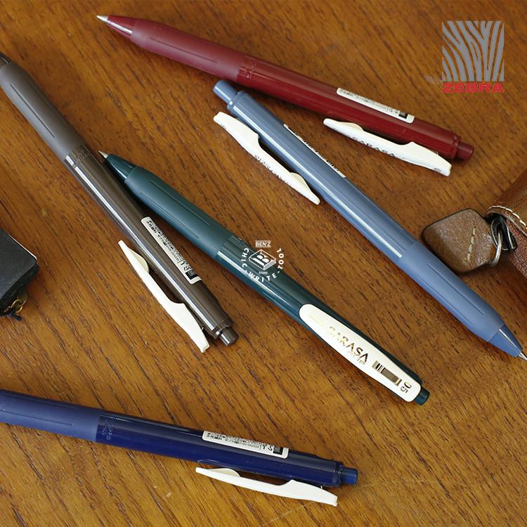 Япония ZEBRA зебра ретро - цвет предел SARASA темно цвет пресс двигаясь в пена пен многоцветный нейтральный ручка