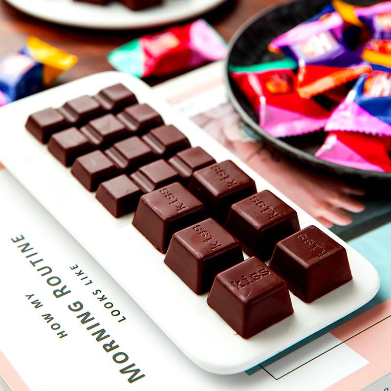 巧克力混合大礼包糖果组合喜糖休闲零食批发散装整箱(代可可脂)