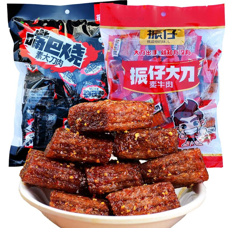 振仔の太刀肉の辛い条の間食の好みはあっさりしている牛肉を燃やします8090後で子供のころを懐かしみます248 gの小さい包装は郵送します。