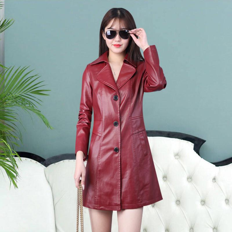 唯品汇高档专柜品牌2019新款韩版修身显瘦中长款女装翻领加棉时尚