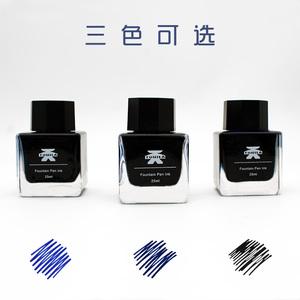 墨水钢笔用纯黑非碳素速干不堵笔tonila分装纯蓝黑无碳素钢笔墨水