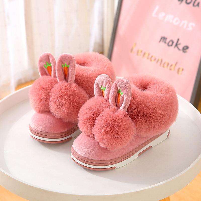 (用43.2元券)宝宝棉包跟秋冬女宝宝男童软底拖鞋