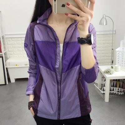 2020夏季新款户外防晒衣女薄款运动皮肤风衣速干长袖防紫外线外套