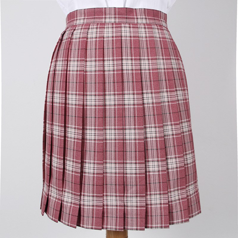 pleated skirt sundress spring autumn women百褶半身裙太阳裙女