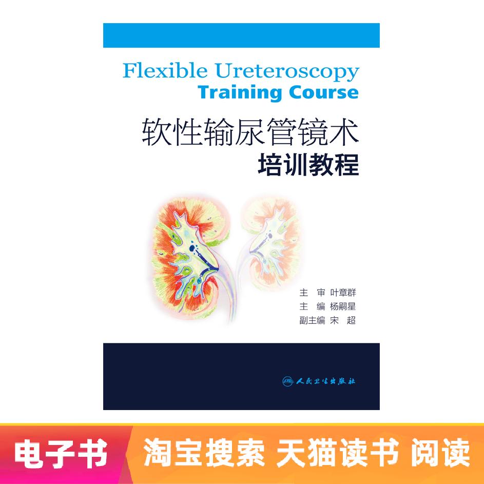 软性输尿管镜术培训教程人民卫生出版社【电子书】