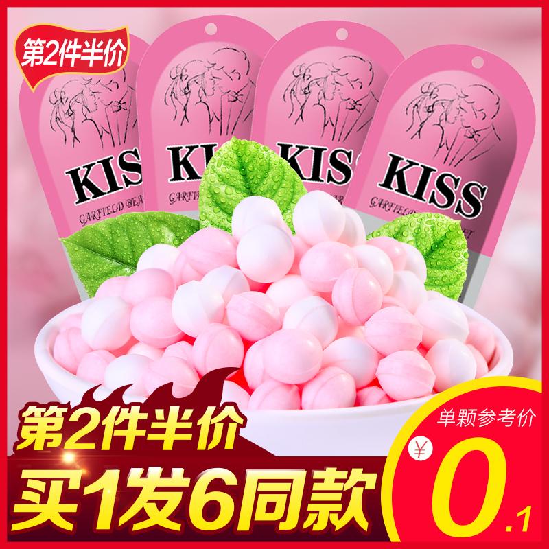 不多言网红接吻糖玫瑰香体糖果男女约会神器吐息持久薄荷口气清新