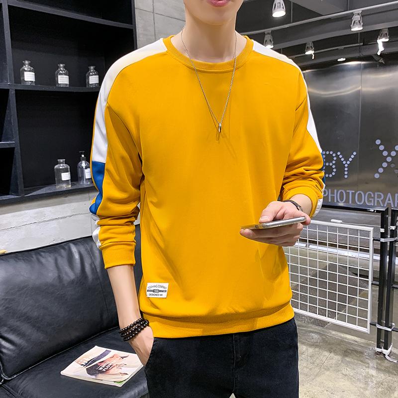 长袖T恤2020春季新款韩版潮流内搭打底衫卫衣男1310-6771-P25