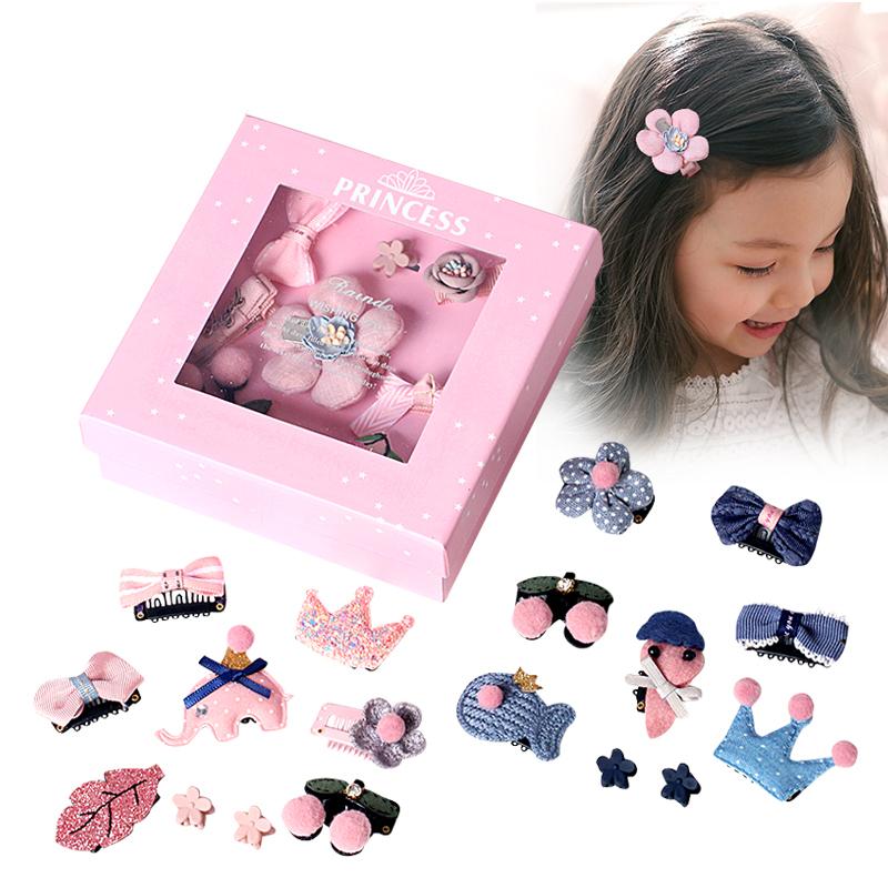 (用10元券)儿童套装韩国可爱萌萌哒公主发夹