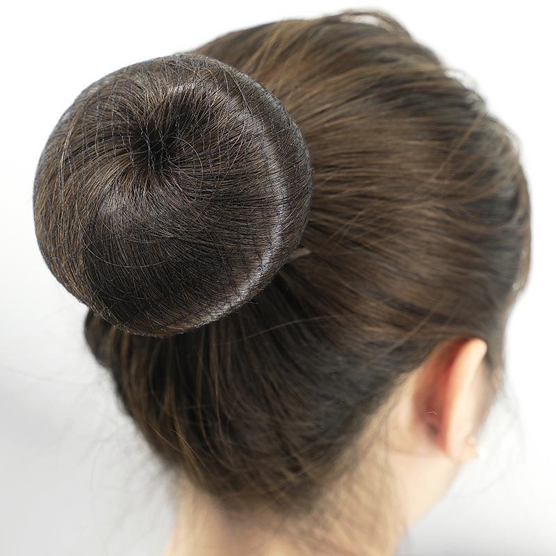 儿童芭蕾舞蹈考级套装发网U型卡成人发夹隐形丸子头盘发网兜发套