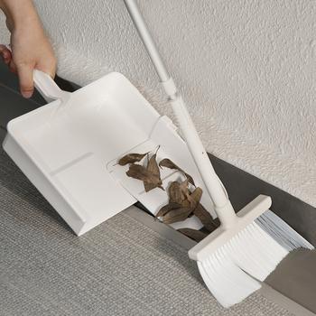 日本进口畚箕套装家用清理小刷子