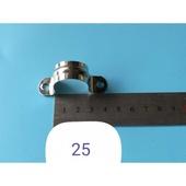 淘不锈钢码管码管夹半边u型管卡骑马卡单边20mm 25  管卡32mm 50m
