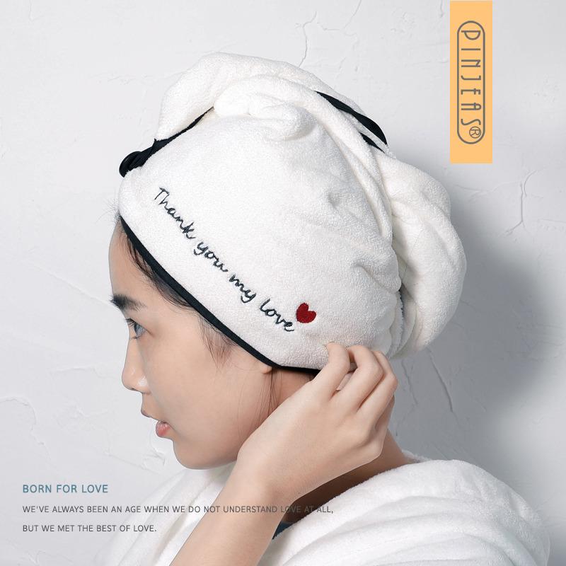 品吉氏干发帽女超强吸水速干帽包头巾洗头发的毛巾浴帽可爱干发巾