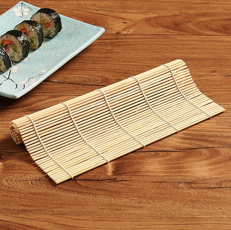 寿司帘竹帘家用厨房制作紫菜包饭卷饭用的帘子卷帘做寿司专用工具