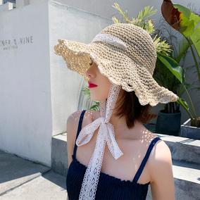 沙滩帽海边度假春秋季气质遮阳帽子