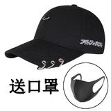 帽子男潮流个性棒球帽韩版学生嘻哈百搭街头青年黑色鸭舌帽女夏天
