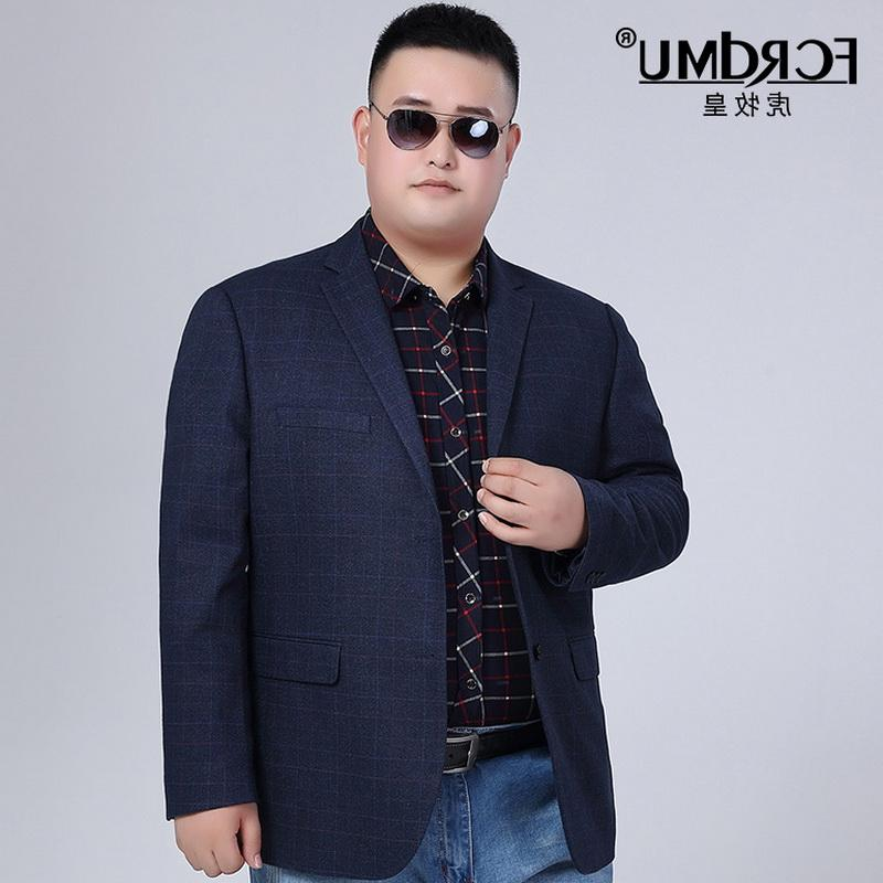 Counter high grade autumn / winter 2017 large size middle aged and elderly suit