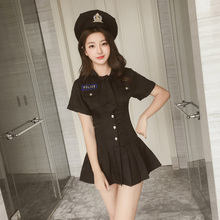 Sexy erotic lingerie police uniforms temptation sm nightclub bar stewardess short skirt passion suit role play