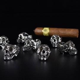 烟托雪茄持灰神器雪茄打孔器便携钻刀雪茄烟托架迷你托展架雪茄钻图片